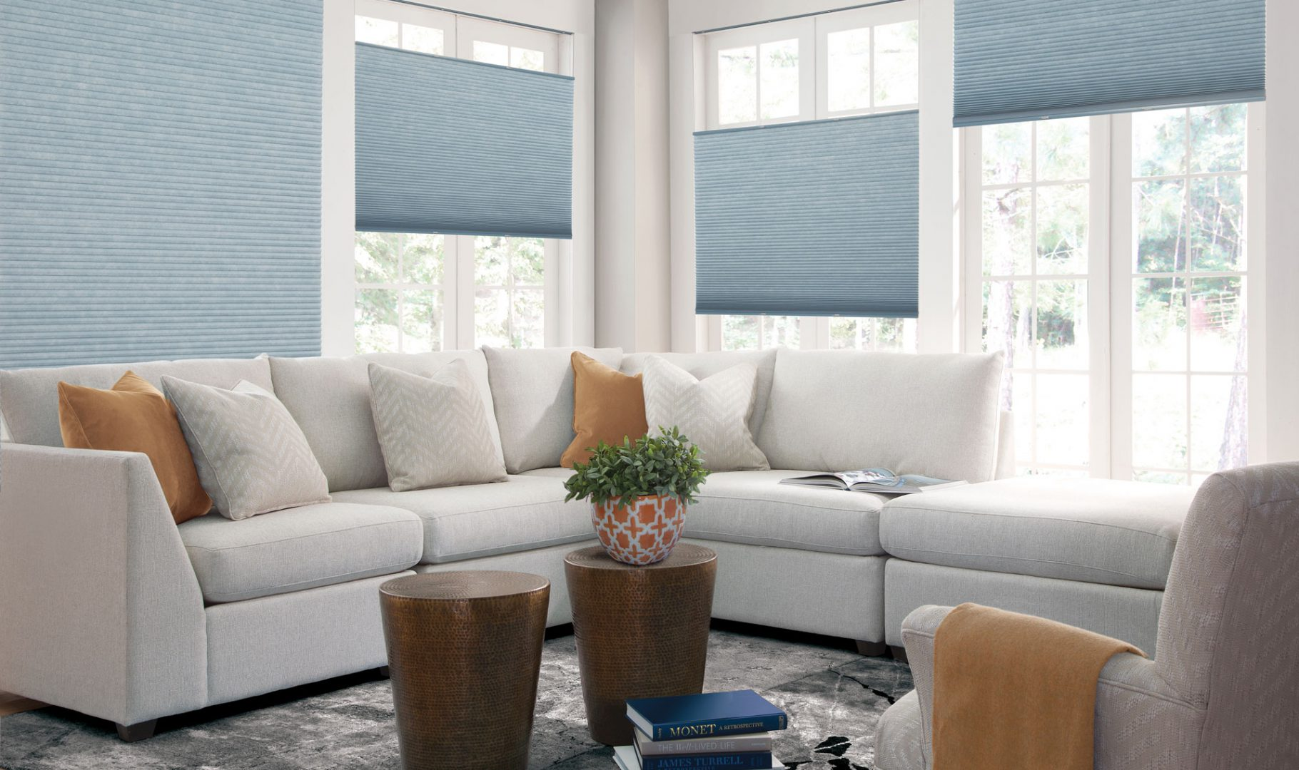 Cellular shades insulate rooms and reduce energy costs