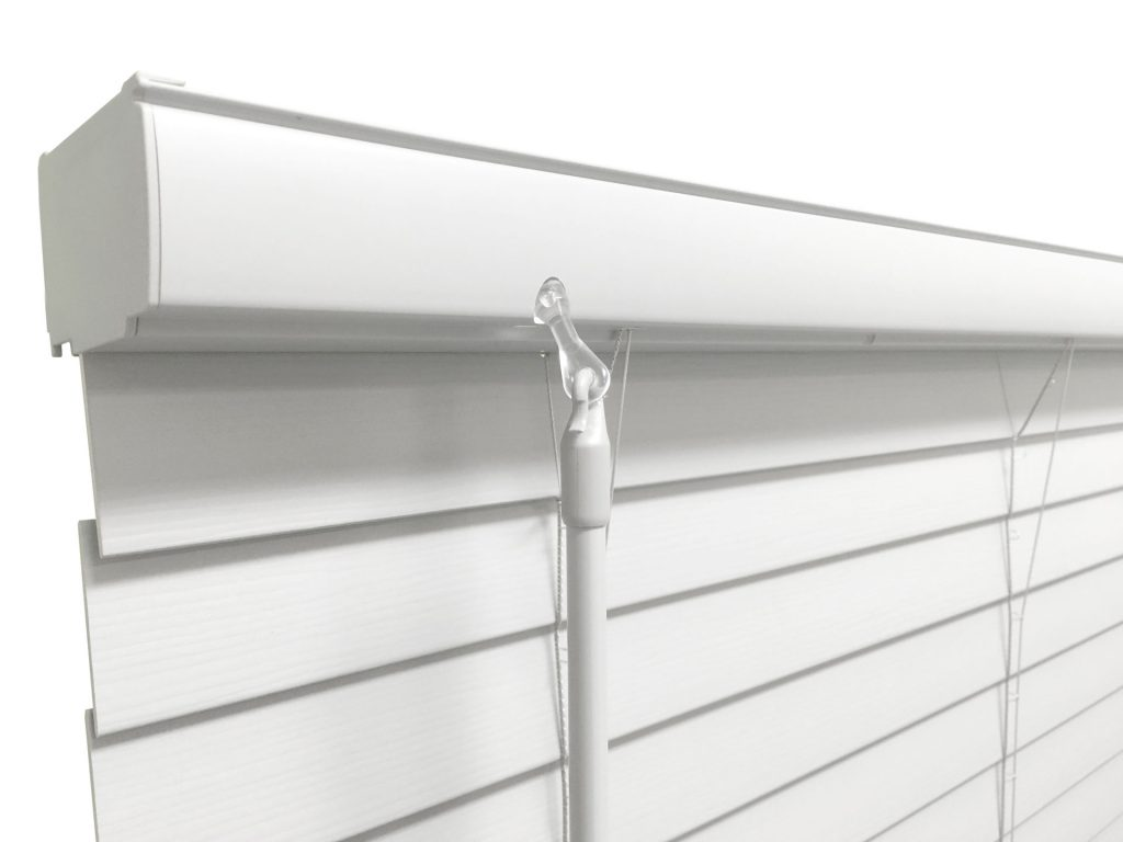 SmartRail offers a contemporary design without the need to install a valance.