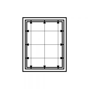How to measure width and height for an inside mount window
