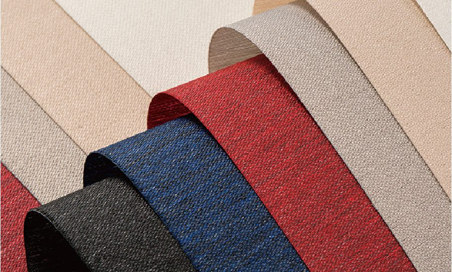Wide variety of designer fabrics and colors offered