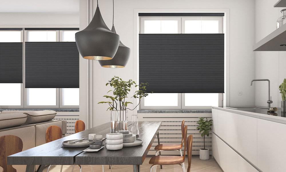 Custom Cellular Shades Veneta Window Fashions