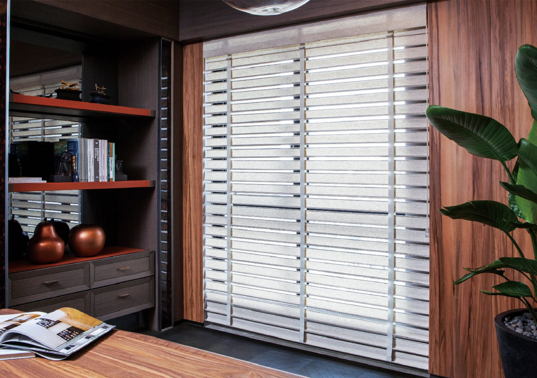 BelleVue™ Shades for the home office