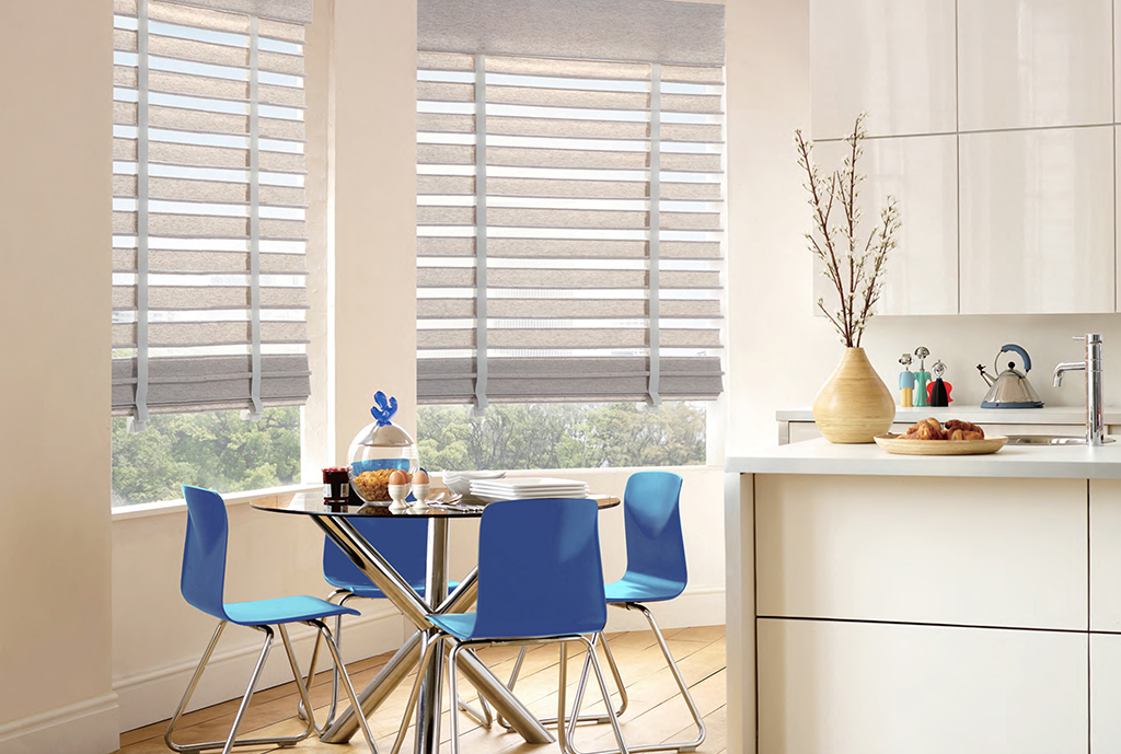 BelleVue shades in coastal design