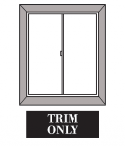 Window with Trim Only
