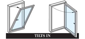 Window Type, Tilt In