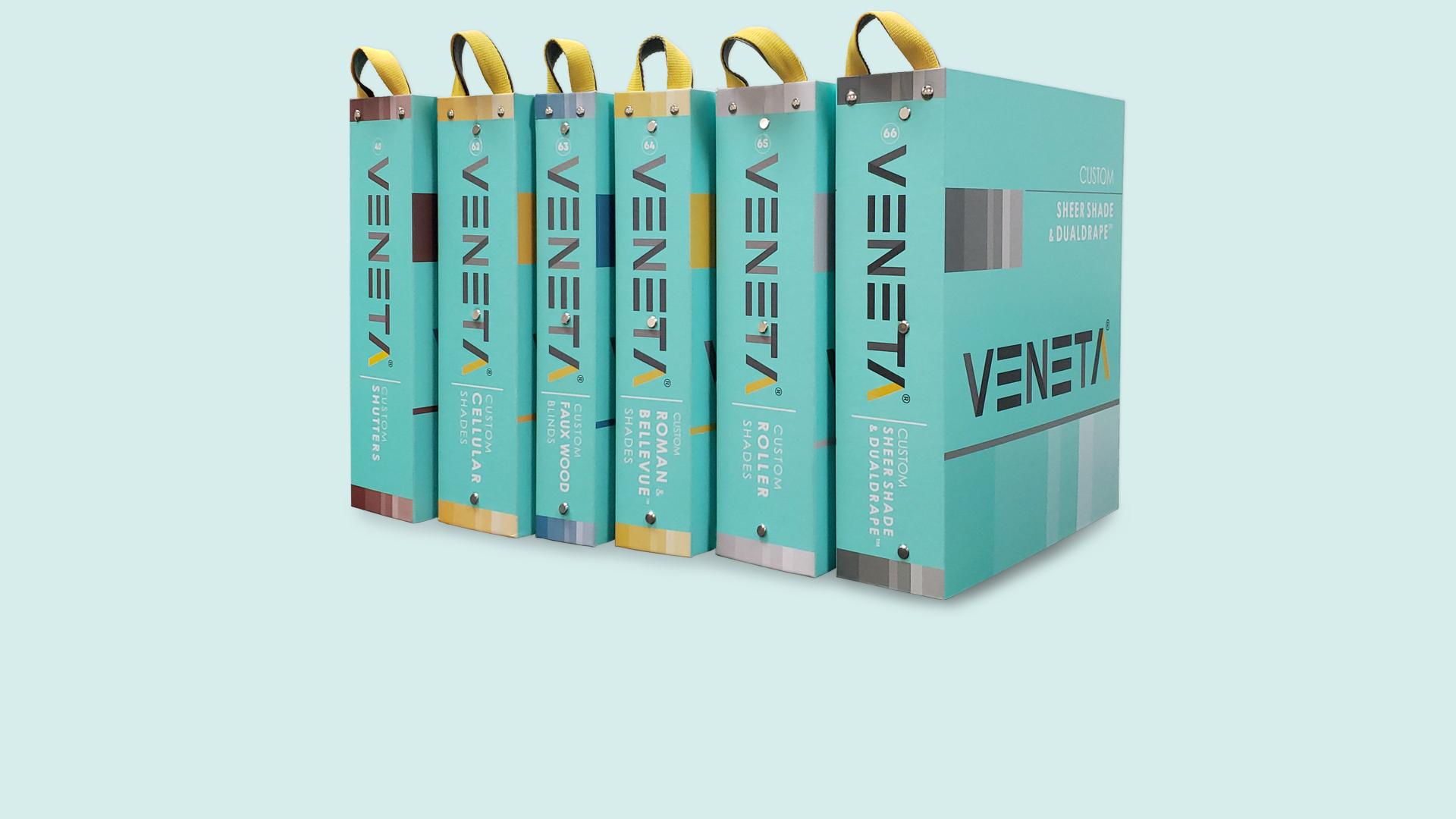 Veneta sample books