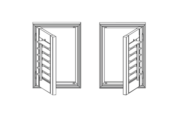 Shutter Panel Configuration - 1 Panel