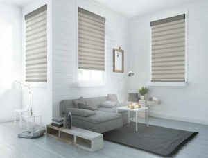 Veneta Light Filtering Sheer Shades