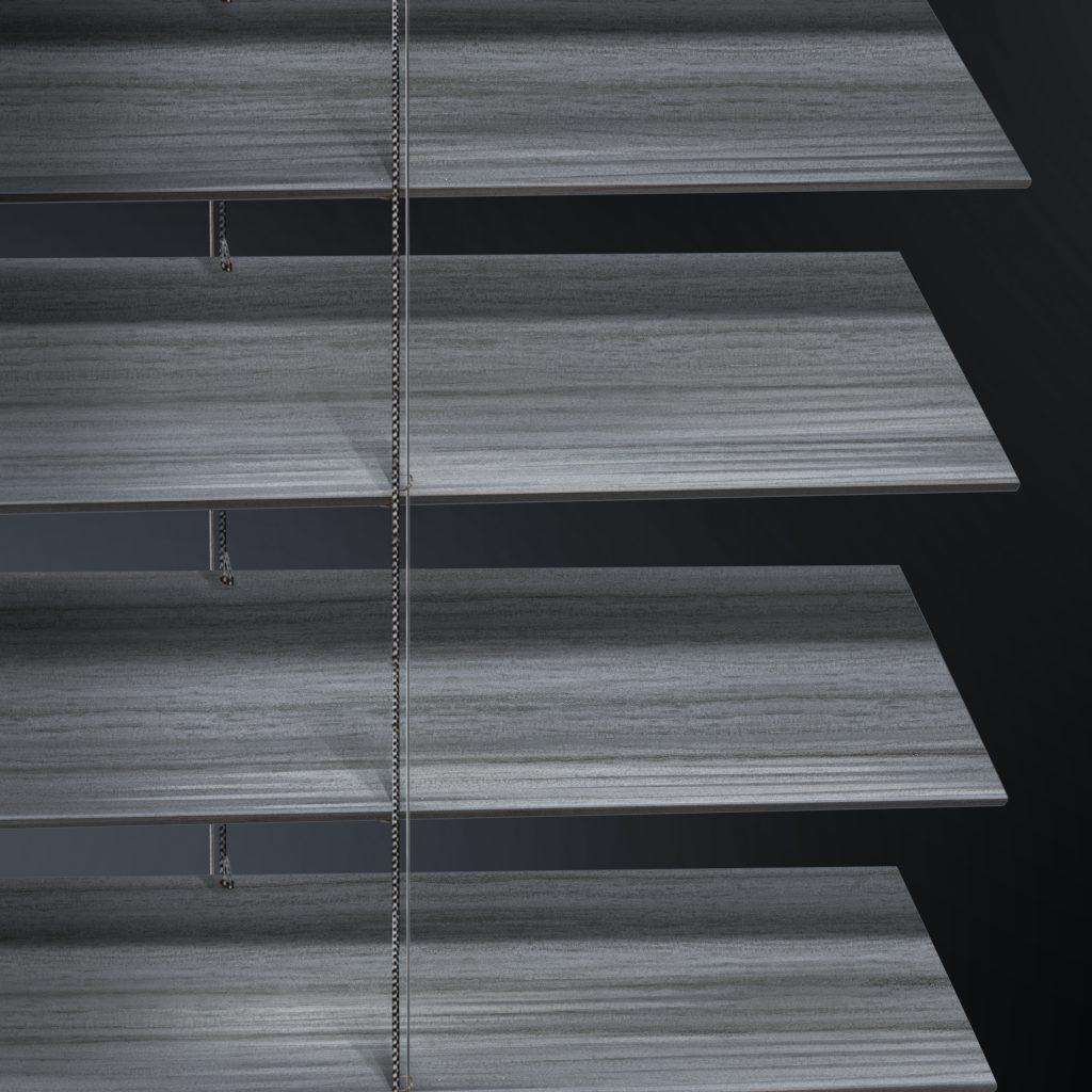 Custom Faux Wood Blinds Veneta Window Fashions