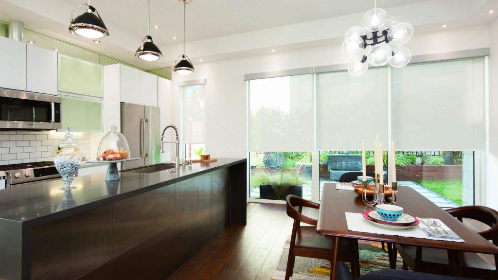 Solar Image (white) dining room. kitchen
