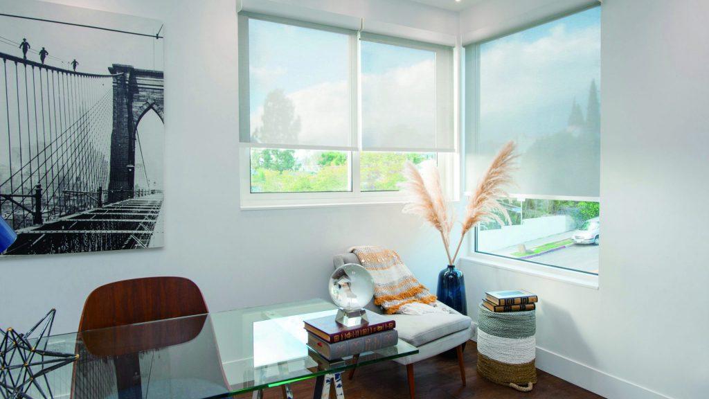 Solar Shade (white) - Home Office